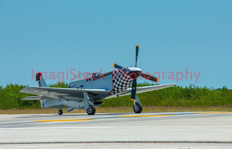 100410 - 1036 P51 Mustang - Key West Naval Air Station, FL
