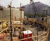 Construction of Silos at the Line Creek Coal Mine in S.E. British Columbia