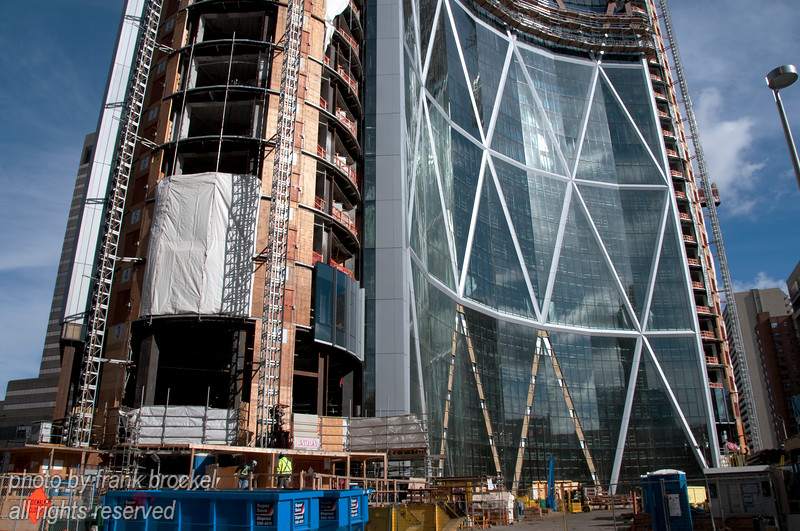The Bow is a 158,000-square-metre (1.7 million sq ft) office building currently under construction for the headquarters of EnCana Corporation in downtown Calgary, Alberta as of Oct. 11, 2010