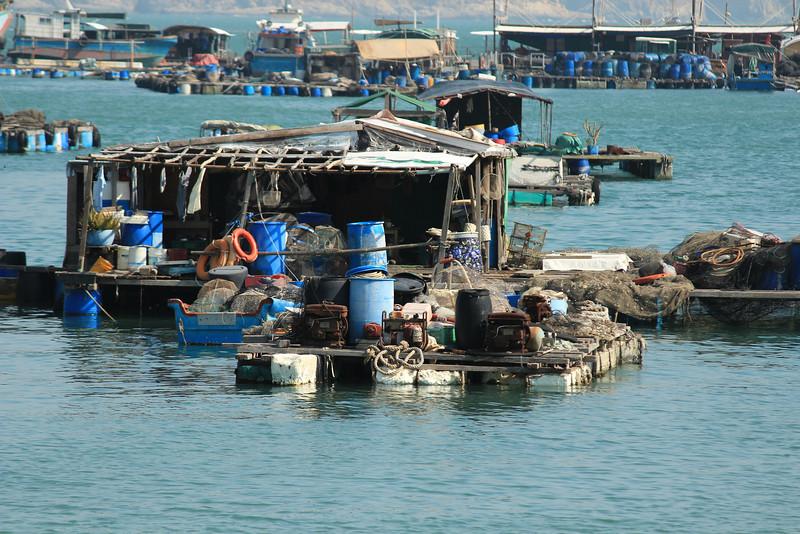 Floating fishing village, Sok Kwu Wan, Lamma Island, Hong Kong