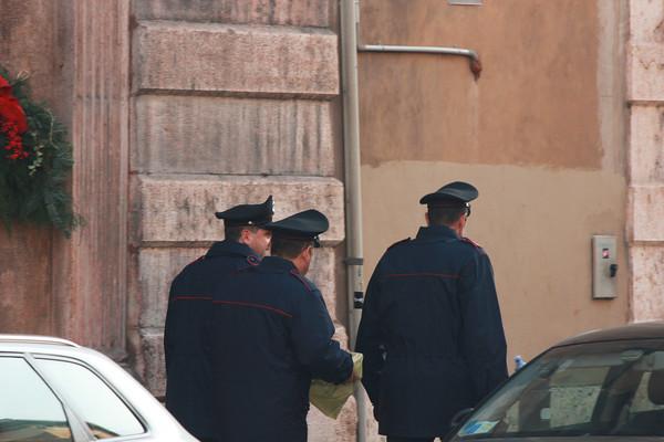 Italy, Verona, Polizia on Patrol