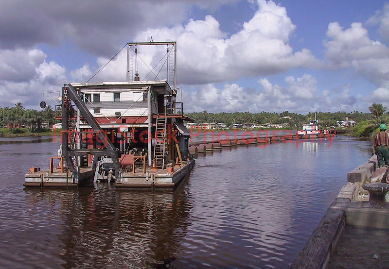 020118 - 0256 Dredge at Work - Linden, Guyana