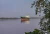 050320 - 0109 Tradewind Star - Transiting Demerara River, Guyana
