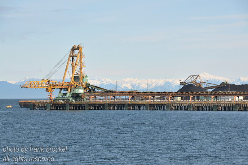 Roberts Bank Superport, also referred to as Deltaport, is a port terminal facility located on the mainland coastline of the Strait of Georgia in Delta, British Columbia.  Created as a port on the West Coast for the export of coal to the far east in the 1960's.