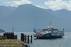 Ferry across Kootenay Lake, B.C., Canada
