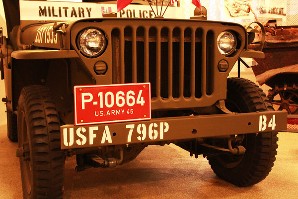 US Army Wileys Jeep Front Grill