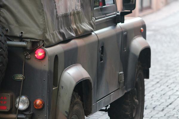Italy, Verona, Italian Army Land Rover