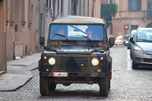 Italian Army Land Rover