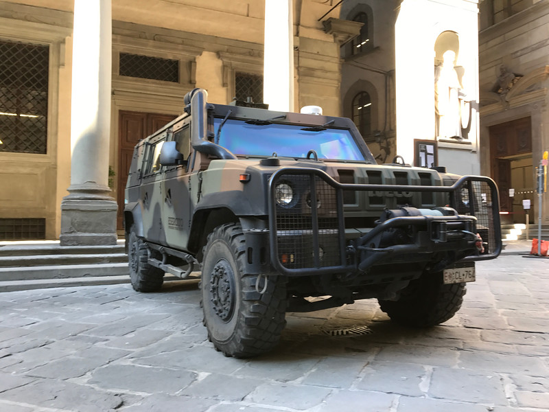 Iveco Light Multirole Vehicle, Italian Army