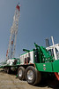 A Drill Rig constructed and owned by Puma Well Service, Brooks, Alberta