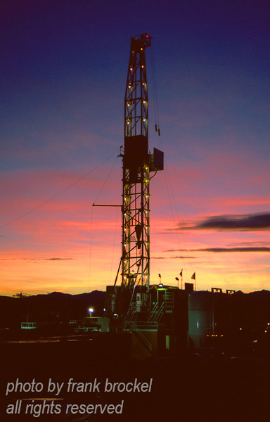 Drill Rig near Longview, Alberta