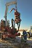 Coiled Tubing rig servicing a well near Kindersley, Saskatchewan.