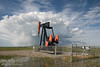 Pumpjack near Longview, Alberta