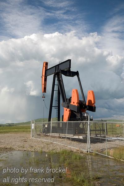 PumpJack near Longview, Alberta