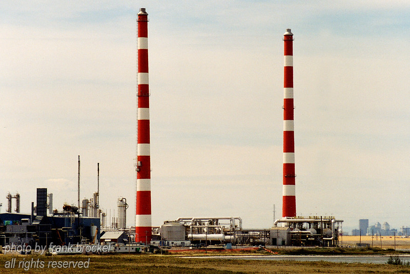 Refinery near Balzac, Alberta