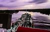 20031120 - 0972 Tanker Traveling Up Demerara River - Guyana