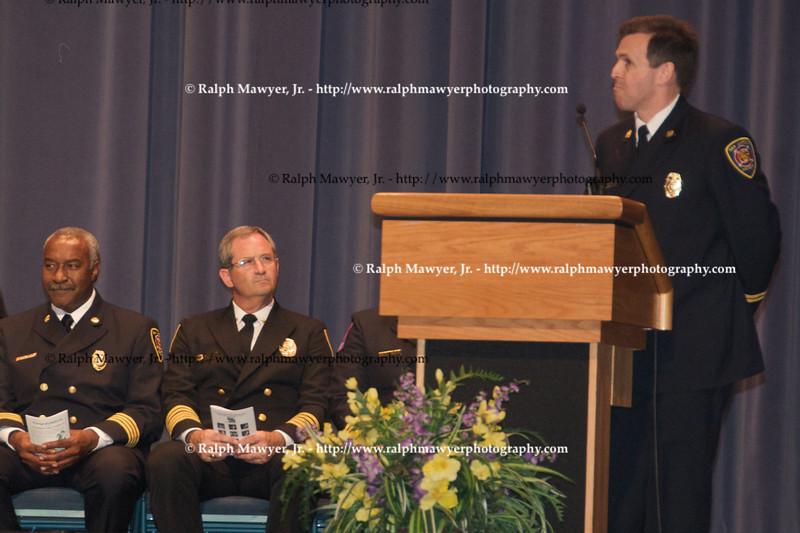 Captain Sikes speaking
