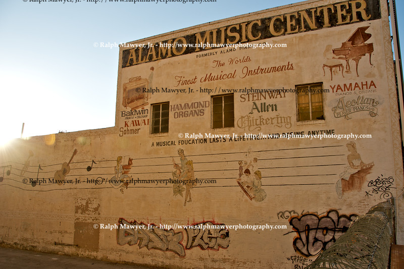 Original Alamo Music Center Building, San Antonio, Texas, 2008