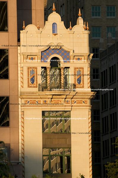 Old AT&T Building Art Deco Facade, San Antonio, Texas, 2008