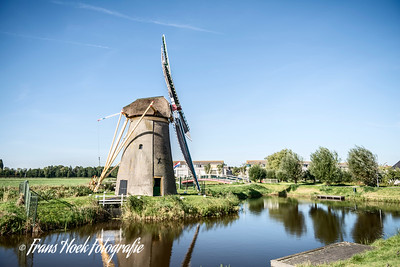 Water mill Stevenshofjesmolen, Leiden Holland