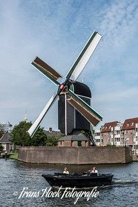 Windmill De Put, Leiden, Holland