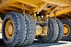 Heavy equipment industrial mining  truck suspension