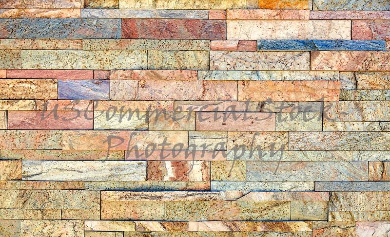 Mineralized copper gold granite stone veneer