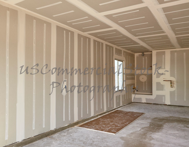 Construction building industry drywall taping and finishing