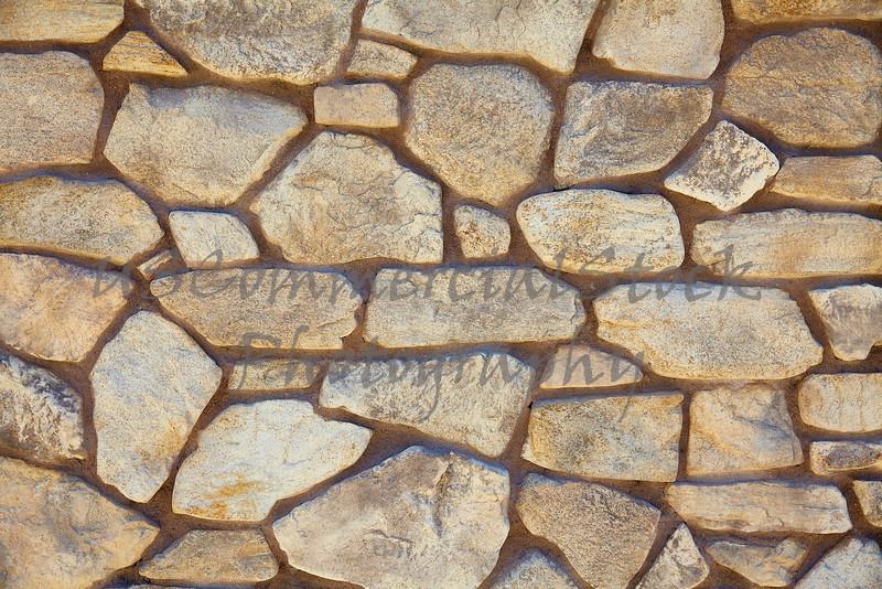 Rubble limestone rock mortar wall