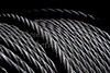 American steel cable ready to work