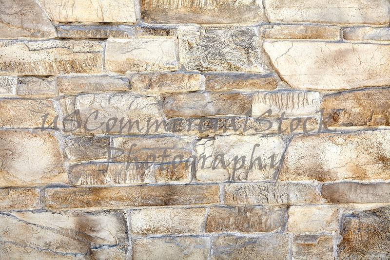 Sandstone random mineralized mortar wall