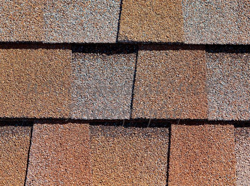 Roofing Shingles shake flat tab style pattern