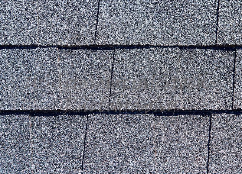 Roofing Shingles dark gray tab style pattern