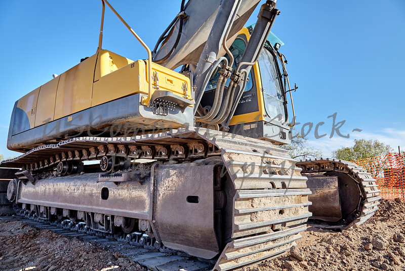 Industrial Heavy Equipment machine excavator road street jobsite