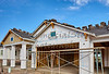 Home building industry house prep for stucco and tile roofing