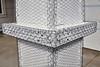 Home building industry house post column ledger stucco mesh detail