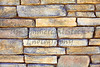 Iron ore mineral ledge rock mortar wall