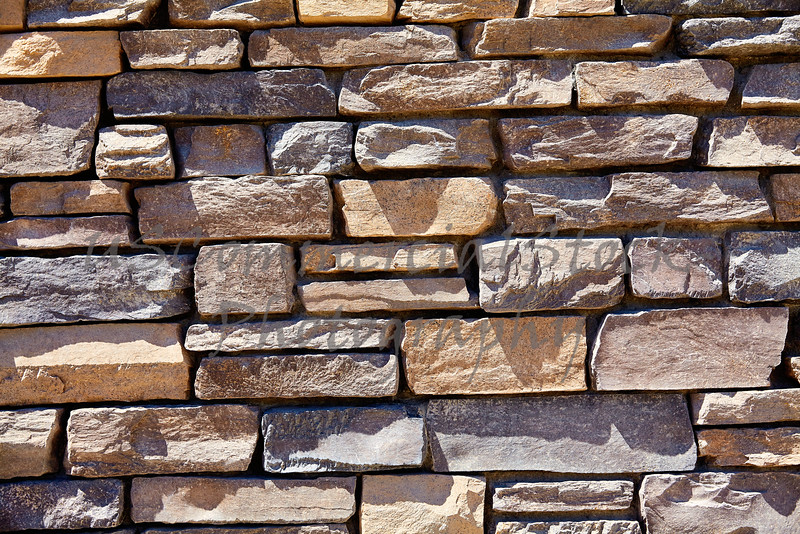 Sandstone cliff rock ledge decorative wall