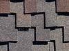 Roofing Shingles dark wood shake style pattern