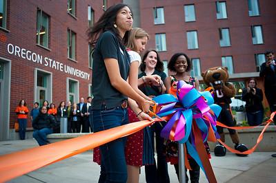 INTO OSU Ribbon Cutting, 2011