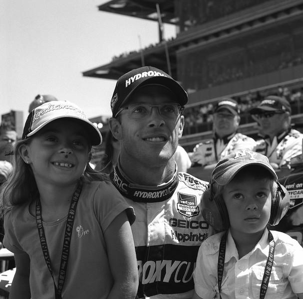 Sebastian Bourdais and his children