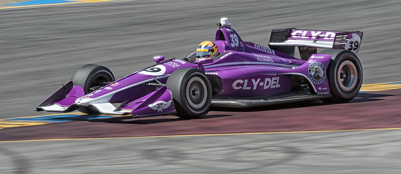 Indy Cars at Sonoma Raceway