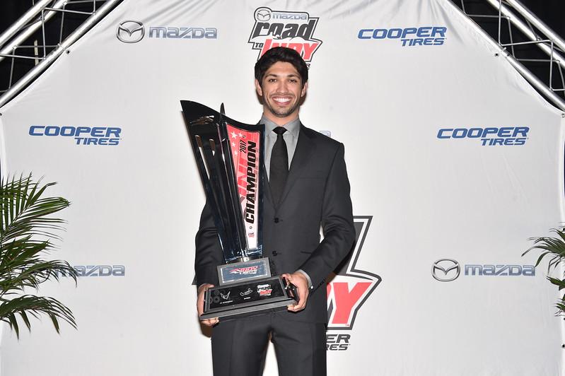 Kaiser obtuvo una beca de un millón de dólares para correr en tres fechas de IndyCar en 2018 (FOTO: Chris Owens/INDYCAR)