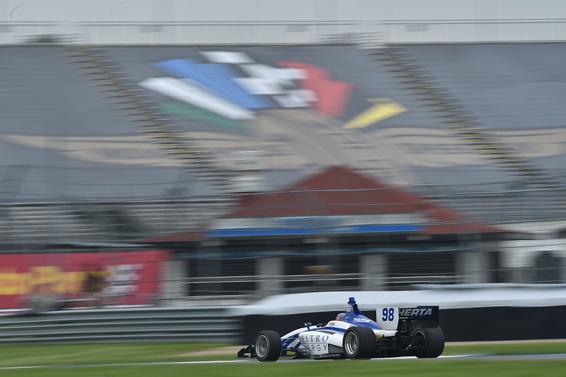 Herta lidera el puntaje general (FOTO: Chris Owens/IMS Photo/Road to Indy)