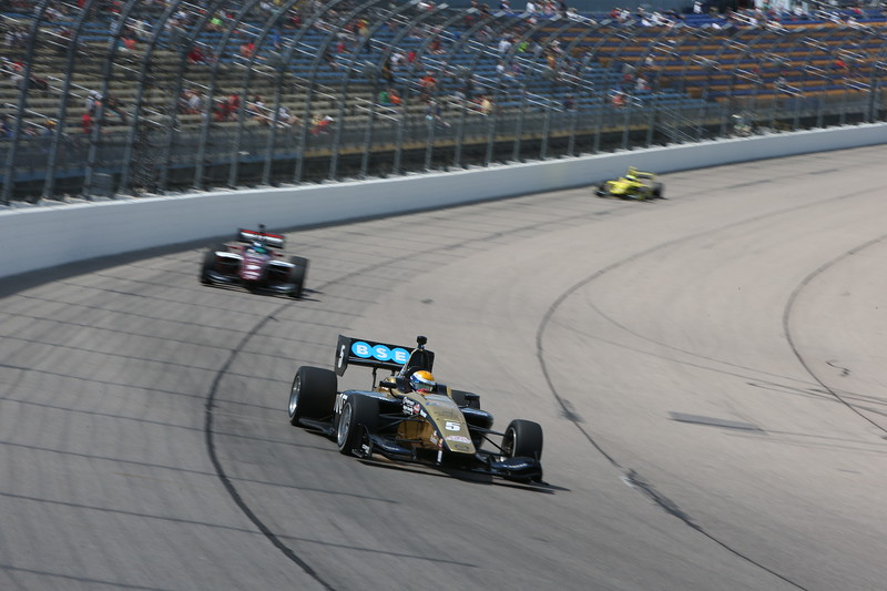 Urrutia volvió a cargarse al hombro a Belardi Auto Racing (FOTO: Joe Skibinski/IMS Photo/Road to Indy)