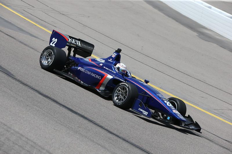 Carlin inscribió a cuatro autos en la Indy Lights en 2017; al momento, se desconoce cuántos podrá tener en 2018 (FOTO: Joe Skibinski/IMS Photo)