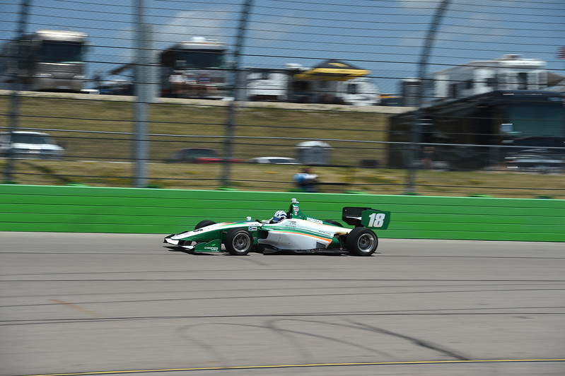 Kaiser mantiene con las uñas el liderato general (FOTO: Chris Owens/IMS Photo/Road to Indy)
