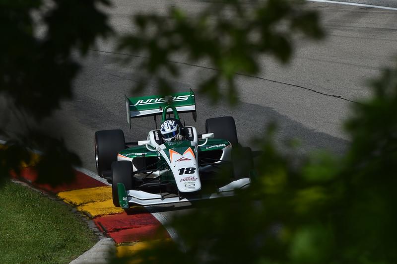 Kaiser, líder del campeonato, iniciará la Carrera 1 en cuarto (FOTO: Chris Owens/IMS Photo/Road to Indy)