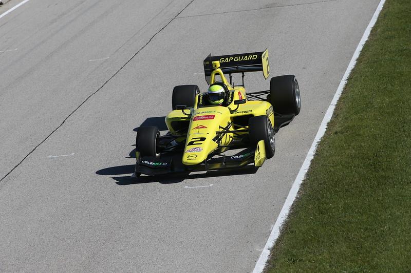 Piedrahita finalizó segundo en la visita de la Star Mazda (hoy Pro Mazda) en 2013 (FOTO: Joe Skibinski/IMS Photo/Road to Indy)