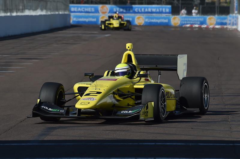 Juan Piedrahita arrancará en tercera posición este sábado (FOTO: Chris Owens/IMS Photo)